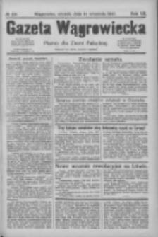 Gazeta Wągrowiecka: pismo dla ziemi pałuckiej 1927.09.13 R.7 Nr108