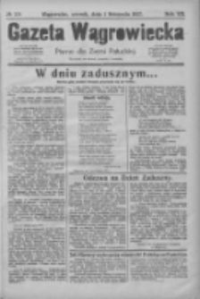 Gazeta Wągrowiecka: pismo dla ziemi pałuckiej 1927.11.01 R.7 Nr129