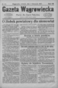 Gazeta Wągrowiecka: pismo dla ziemi pałuckiej 1927.11.08 R.7 Nr132
