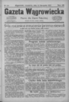 Gazeta Wągrowiecka: pismo dla ziemi pałuckiej 1927.11.10 R.7 Nr133