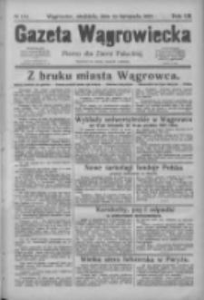 Gazeta Wągrowiecka: pismo dla ziemi pałuckiej 1927.11.13 R.7 Nr134