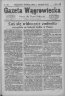 Gazeta Wągrowiecka: pismo dla ziemi pałuckiej 1927.11.27 R.7 Nr140