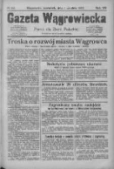 Gazeta Wągrowiecka: pismo dla ziemi pałuckiej 1927.12.01 R.7 Nr142