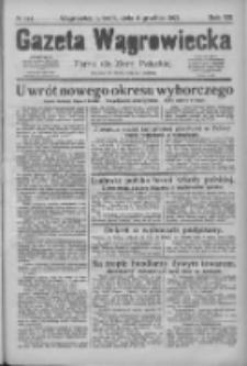 Gazeta Wągrowiecka: pismo dla ziemi pałuckiej 1927.12.06 R.7 Nr144
