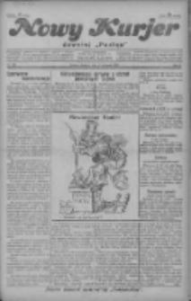 """Nowy Kurjer: dawniej """"Postęp"""" 1928.11.25 R.39 Nr273"""