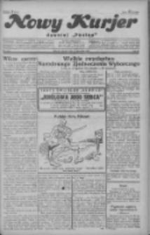 """Nowy Kurjer: dawniej """"Postęp"""" 1928.11.27 R.39 Nr274"""