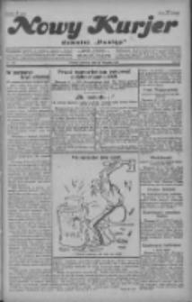 """Nowy Kurjer: dawniej """"Postęp"""" 1928.11.29 R.39 Nr276"""