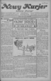 """Nowy Kurjer: dawniej """"Postęp"""" 1928.12.06 R.39 Nr282"""