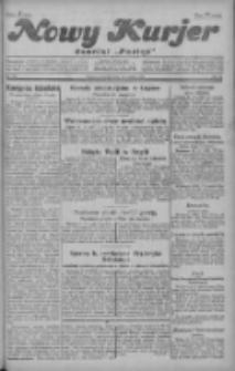 """Nowy Kurjer: dawniej """"Postęp"""" 1928.12.13 R.39 Nr287"""