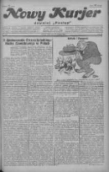 """Nowy Kurjer: dawniej """"Postęp"""" 1928.12.19 R.39 Nr292"""