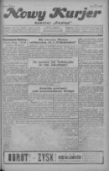 """Nowy Kurjer: dawniej """"Postęp"""" 1928.12.21 R.39 Nr294"""