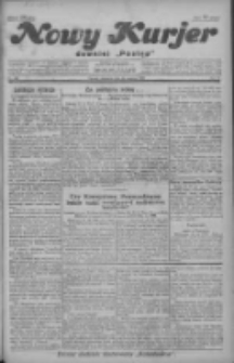 """Nowy Kurjer: dawniej """"Postęp"""" 1928.12.23 R.39 Nr296"""
