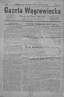Gazeta Wągrowiecka: pismo dla ziemi pałuckiej 1930.01.05 R.10 Nr1
