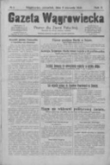 Gazeta Wągrowiecka: pismo dla ziemi pałuckiej 1930.01.09 R.10 Nr3