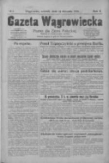 Gazeta Wągrowiecka: pismo dla ziemi pałuckiej 1930.01.14 R.10 Nr5