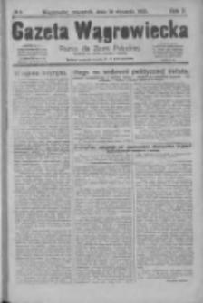 Gazeta Wągrowiecka: pismo dla ziemi pałuckiej 1930.01.16 R.10 Nr6
