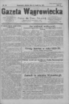 Gazeta Wągrowiecka: pismo dla ziemi pałuckiej 1930.04.25 R.10 Nr58