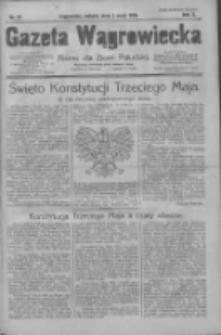 Gazeta Wągrowiecka: pismo dla ziemi pałuckiej 1930.05.03 R.10 Nr65