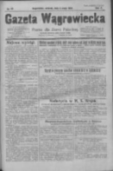 Gazeta Wągrowiecka: pismo dla ziemi pałuckiej 1930.05.06 R.10 Nr66