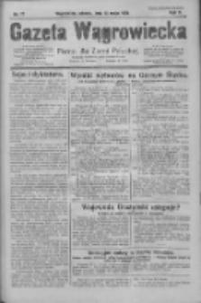 Gazeta Wągrowiecka: pismo dla ziemi pałuckiej 1930.05.13 R.10 Nr72