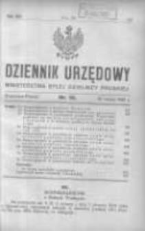 Dziennik Urzędowy Ministerstwa Byłej Dzielnicy Pruskiej 1921.03.31 R.2 Nr14