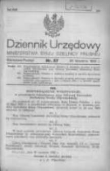 Dziennik Urzędowy Ministerstwa Byłej Dzielnicy Pruskiej 1920.09.25 R.1 Nr57
