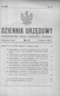 Dziennik Urzędowy Ministerstwa Byłej Dzielnicy Pruskiej 1922.04.08 R.3 Nr4