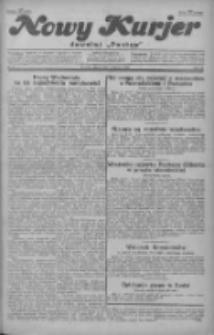 """Nowy Kurjer: dawniej """"Postęp"""" 1929.01.04 R.40 Nr3"""
