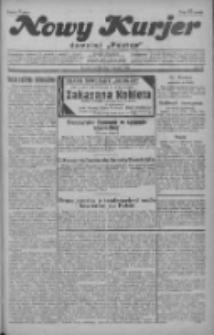 """Nowy Kurjer: dawniej """"Postęp"""" 1929.01.05 R.40 Nr4"""