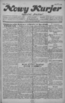 """Nowy Kurjer: dawniej """"Postęp"""" 1929.01.09 R.40 Nr7"""