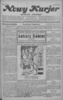 """Nowy Kurjer: dawniej """"Postęp"""" 1929.01.10 R.40 Nr8"""