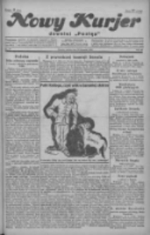 """Nowy Kurjer: dawniej """"Postęp"""" 1929.01.12 R.40 Nr10"""