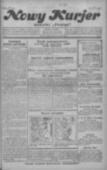 """Nowy Kurjer: dawniej """"Postęp"""" 1929.01.13 R.40 Nr11"""