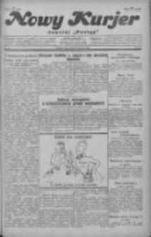 """Nowy Kurjer: dawniej """"Postęp"""" 1929.01.23 R.40 Nr19"""
