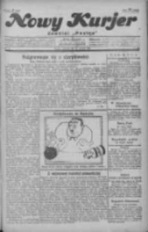 """Nowy Kurjer: dawniej """"Postęp"""" 1929.01.24 R.40 Nr20"""