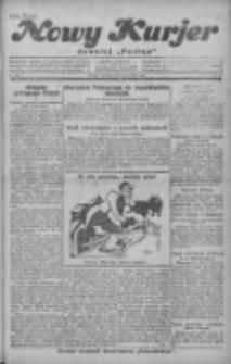 """Nowy Kurjer: dawniej """"Postęp"""" 1929.01.27 R.40 Nr23"""