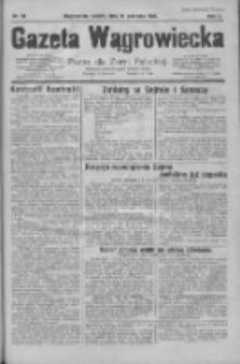 Gazeta Wągrowiecka: pismo dla ziemi pałuckiej 1930.06.13 R.10 Nr98