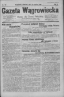 Gazeta Wągrowiecka: pismo dla ziemi pałuckiej 1930.06.15 R.10 Nr100