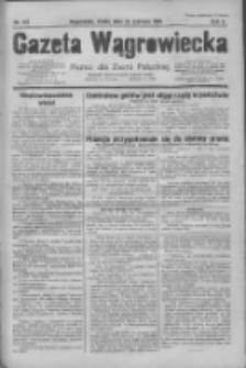Gazeta Wągrowiecka: pismo dla ziemi pałuckiej 1930.06.25 R.10 Nr107