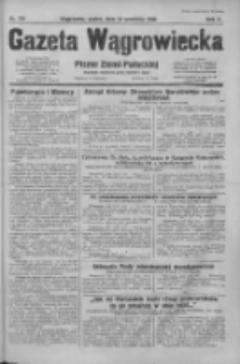 Gazeta Wągrowiecka: pismo dla ziemi pałuckiej 1930.09.12 R.10 Nr174