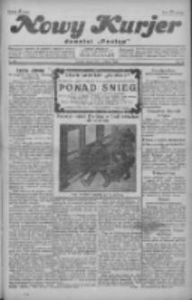 """Nowy Kurjer: dawniej """"Postęp"""" 1929.02.16 R.40 Nr39"""