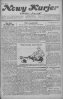 """Nowy Kurjer: dawniej """"Postęp"""" 1929.02.19 R.40 Nr41"""