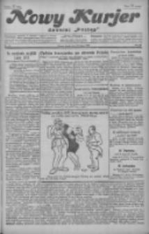 """Nowy Kurjer: dawniej """"Postęp"""" 1929.02.20 R.40 Nr42"""
