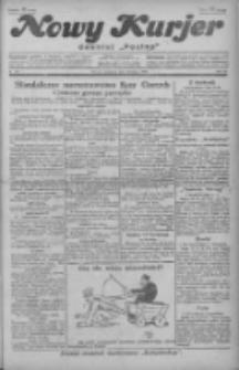 """Nowy Kurjer: dawniej """"Postęp"""" 1929.02.24 R.40 Nr46"""