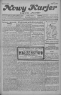 """Nowy Kurjer: dawniej """"Postęp"""" 1929.02.28 R.40 Nr49"""