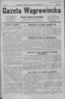 Gazeta Wągrowiecka: pismo dla ziemi pałuckiej 1930.09.27 R.10 Nr187