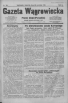 Gazeta Wągrowiecka: pismo dla ziemi pałuckiej 1930.09.28 R.10 Nr188