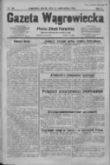 Gazeta Wągrowiecka: pismo dla ziemi pałuckiej 1930.10.10 R.10 Nr198