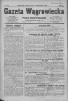 Gazeta Wągrowiecka: pismo dla ziemi pałuckiej 1930.10.21 R.10 Nr207
