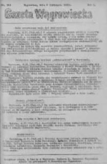Gazeta Wągrowiecka: pismo dla ziemi pałuckiej 1930.11.06 R.10 Nr219